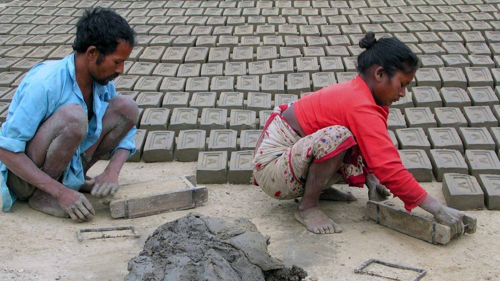 Brick industry and social improvements